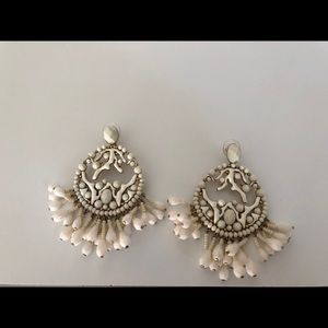 India Hicks beautiful earrings- never worn
